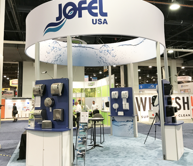 ISSA / INTERCLEAN 2018 DALLAS Jofel USA Booth # 2308